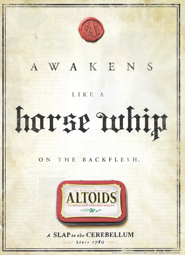 altoids thinks being whipped is like eating a mint